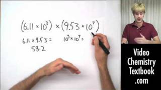 Scientific Notation: Multiplication and Division