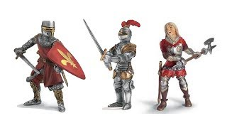 Schleich 3 Knights Toy Unboxing   Toys For Kids