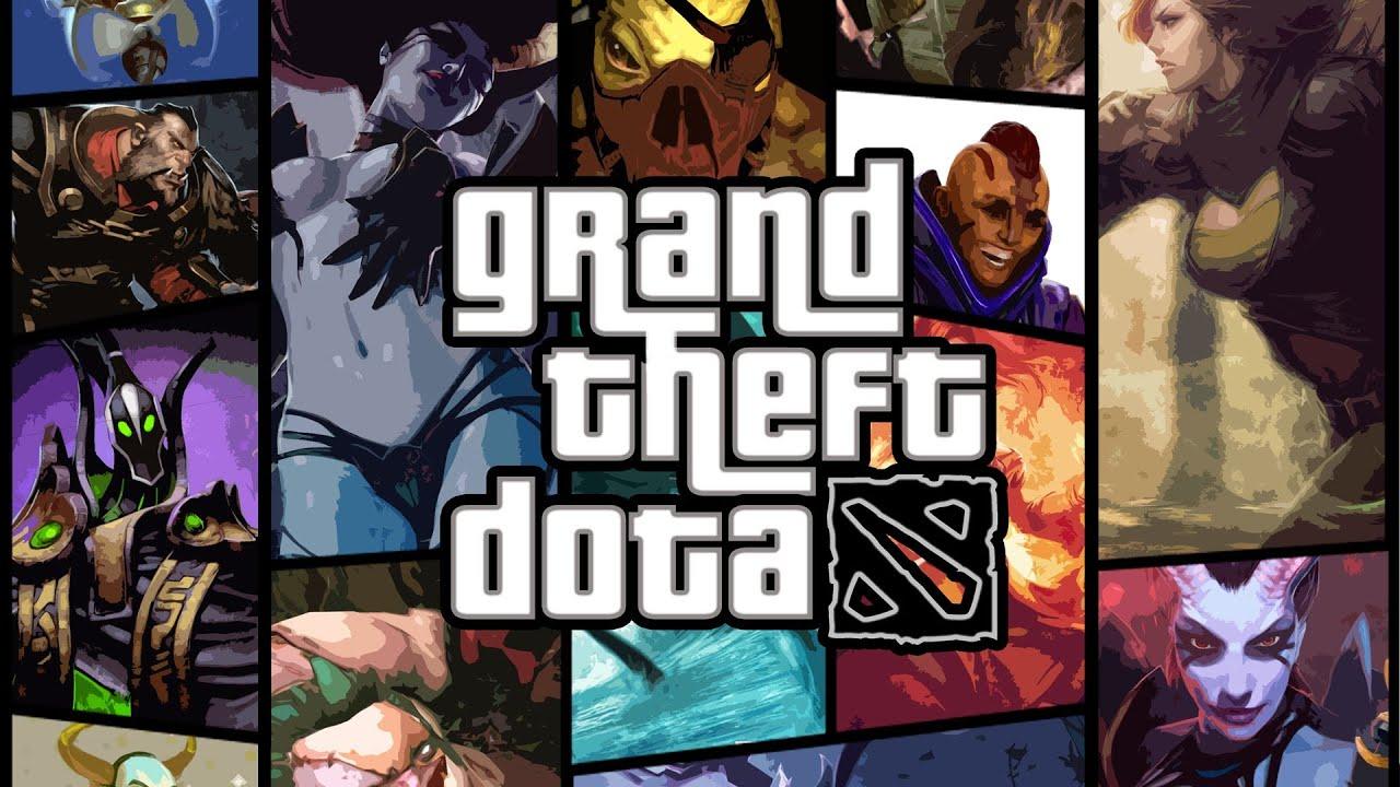 Grand Theft Dota Sfm Dota  Meets Gta