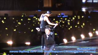 Video 120929 BigBang Alive Tour 2012 Singapore - Fantastic Baby [Encore] (G-Dragon Fancam) download MP3, 3GP, MP4, WEBM, AVI, FLV Juli 2018