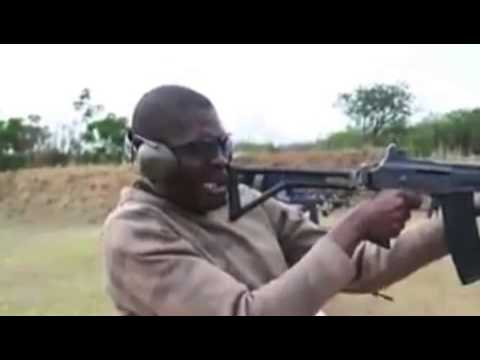 South African Police in training - Very Funny