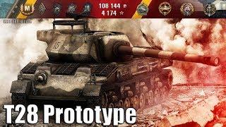 T28 Prototype wot как играть 🌟 ЛБЗ ПТ-15 на Об. 260 🌟 World of Tanks лучший бой T28 Prototype