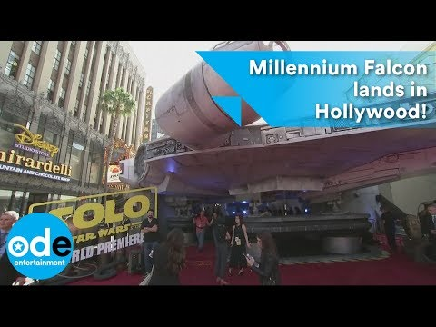 Solo: A Star Wars Story premiere: Millennium Falcon lands in Hollywood!