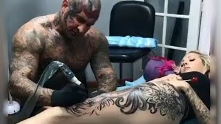 Most painful place on your body to get a tattoo (part 1)