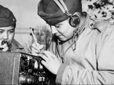 navajo code talker explains role in wwii youtube