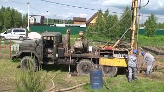 Бурение скважины на воду в Заокском районе