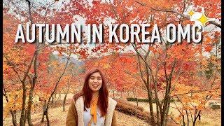 VLOG 3 | Autumn in South Korea 2017| Day 1&2: MNL to ICN // Nami Island