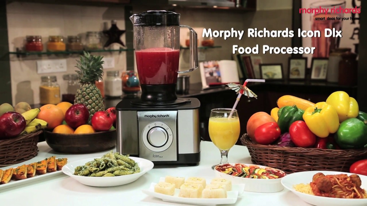 Meet the morphy richards icon dlx food processor features youtube meet the morphy richards icon dlx food processor features forumfinder Images