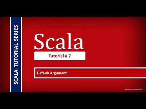 How to Use Default Arguments in Scala Programming # Tutorial - 7