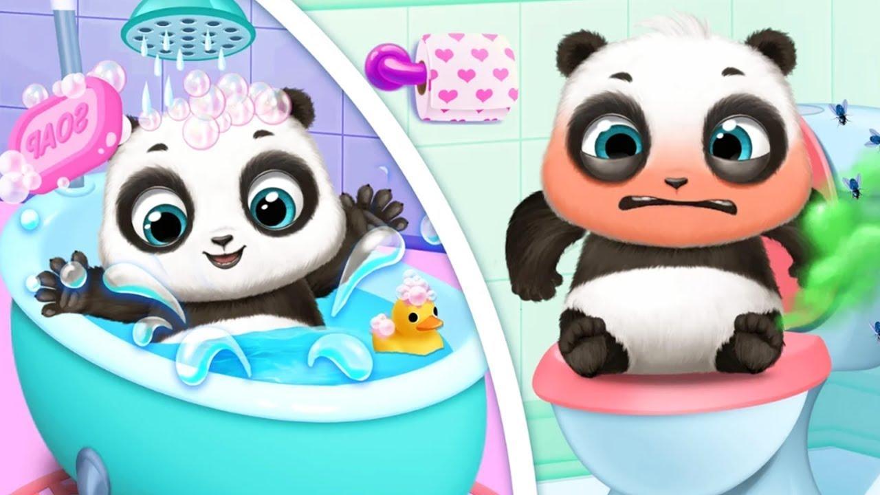 Fun Baby Care Kids Game - Panda Lu & Friends - Fun Pet Care Crazy Playground Games For Kids