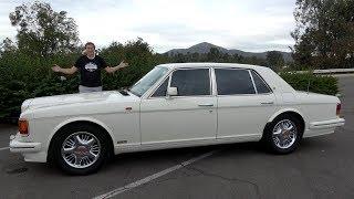 Bentley Turbo R был флагманом Bentley 30 лет назад