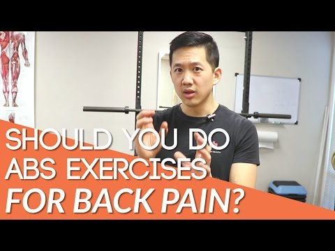 Back pain and ab exercises - do they work?