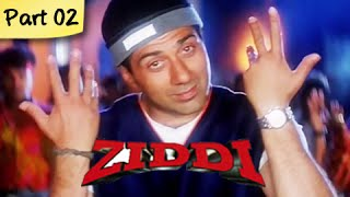 Ziddi (hd) - part 02 of 15 - superhit blockbuster action movie - sunny deol, raveena tandon