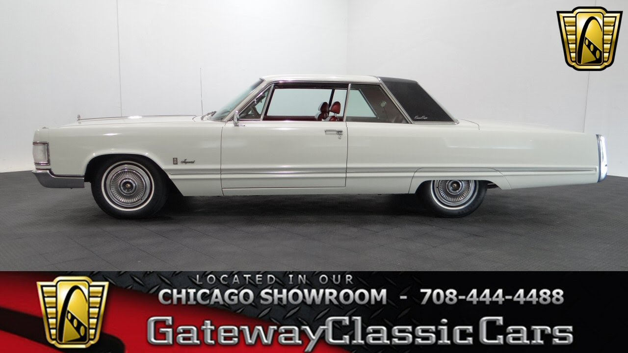 1967 Chrysler Imperial Crown Coupe Gateway Classic Cars Chicago ...