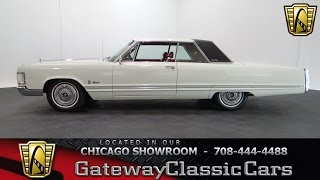 1967 Chrysler Imperial Crown Coupe Gateway Classic Cars Chicago #1008
