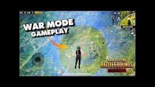 Pubg Mobile War mode Chicken Dinner Intense Match