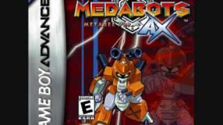 Medabots AX Music - Team Formation Menu