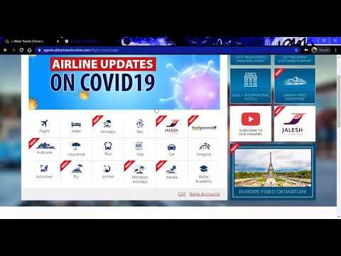 2. Flight Booking Training Video-agents akbartravelsonline.com