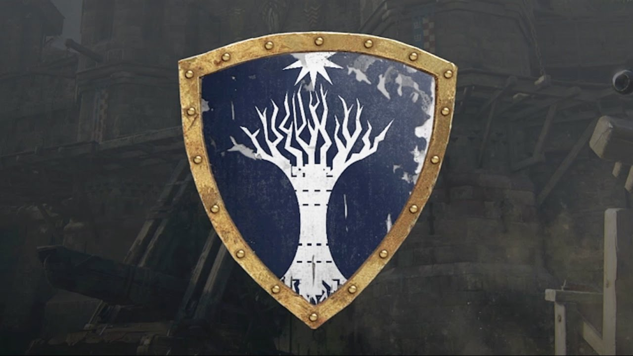 for honor lord of the rings white tree of gondor emblem tutorial