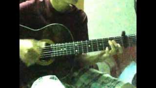 """""""Sau Bao Năm"""" - Trịnh Thăng Bình - guitar by Út Po"""