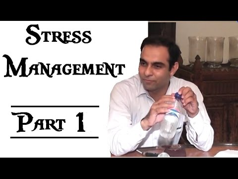 Stress and Anxiety: Causes and Management - In Urdu