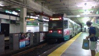 MBTA | Green Line Trains at Prudential Center