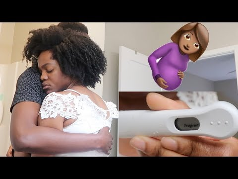 TAKING THE PREGNANCY TEST  OUR REAL REACTION TO OUR SURPRISE PREGNANCY VLOG  Luchi Loyale