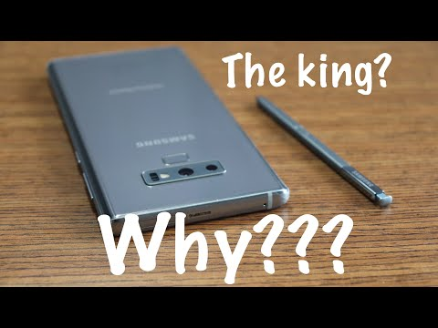 Here is why people say the Galaxy Note 9 is the KING!