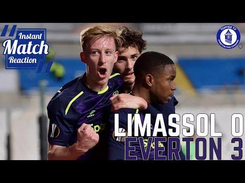 Lookman Inspires Blues Victory | Apollon Limassol 0-3 Everton