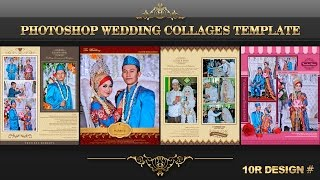 Photoshop Wedding Collages Template 10R