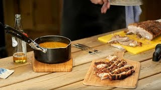 How To Cook Pork Belly On A Weber Charcoal BBQ