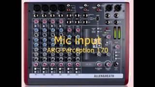 Allen & Heat Zed-10 record test USB