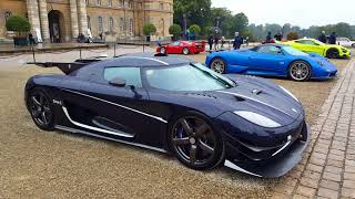 Supercars and hypercars leaving blenhiem palace part 4