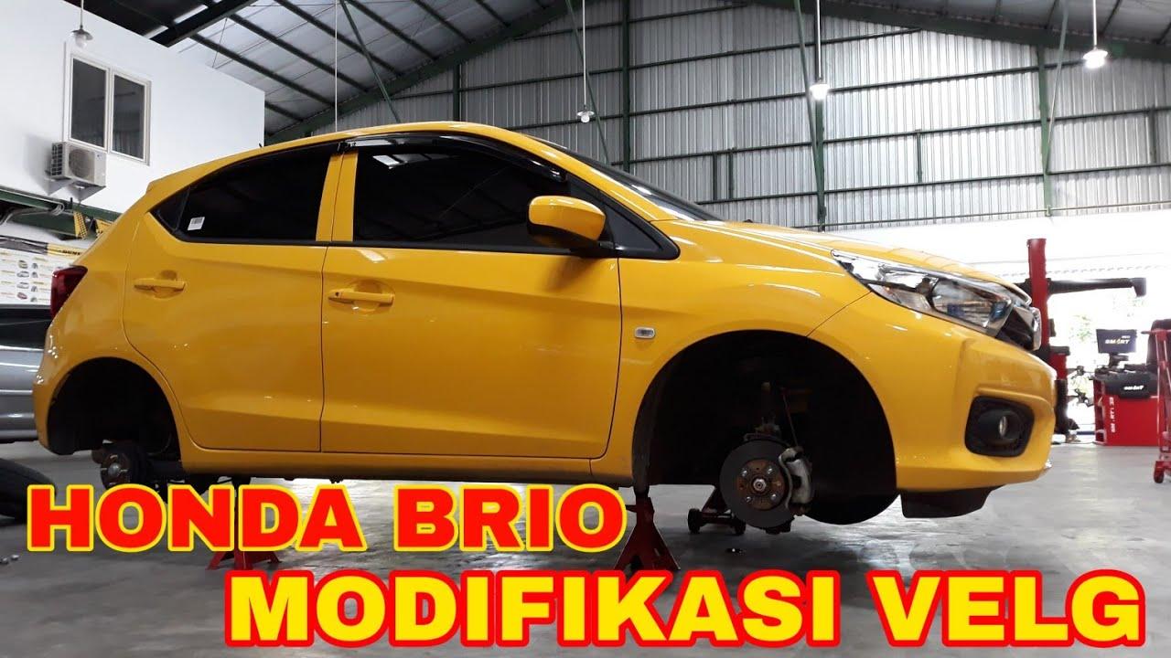 Honda Brio Modifikasi Velg Ring 15 PRO VELG SURABAYA - YouTube
