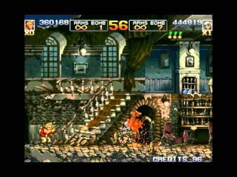 Metal Slug 4 Two Player Co op  Playthrough  BMR27 No Commentary