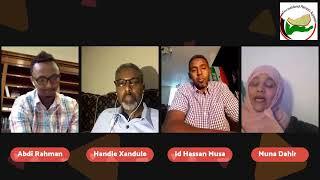 DAAWO BARNAMIJ  XASASIYA OO AY DHALINYARO REER SOMALILAND AY KAGA HADLAYAN ARINKI  SOMAL