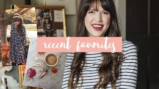 Recent Favorites, a Travel Haul, & a Reading Update!