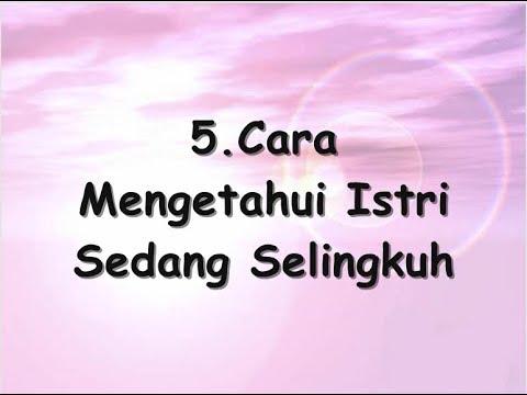 5 Cara Mengetahui Istri Sedang Selingkuh
