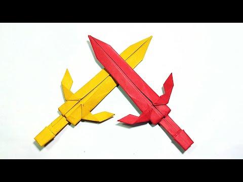 Origami Sword || Easy Paper Sword || DIY