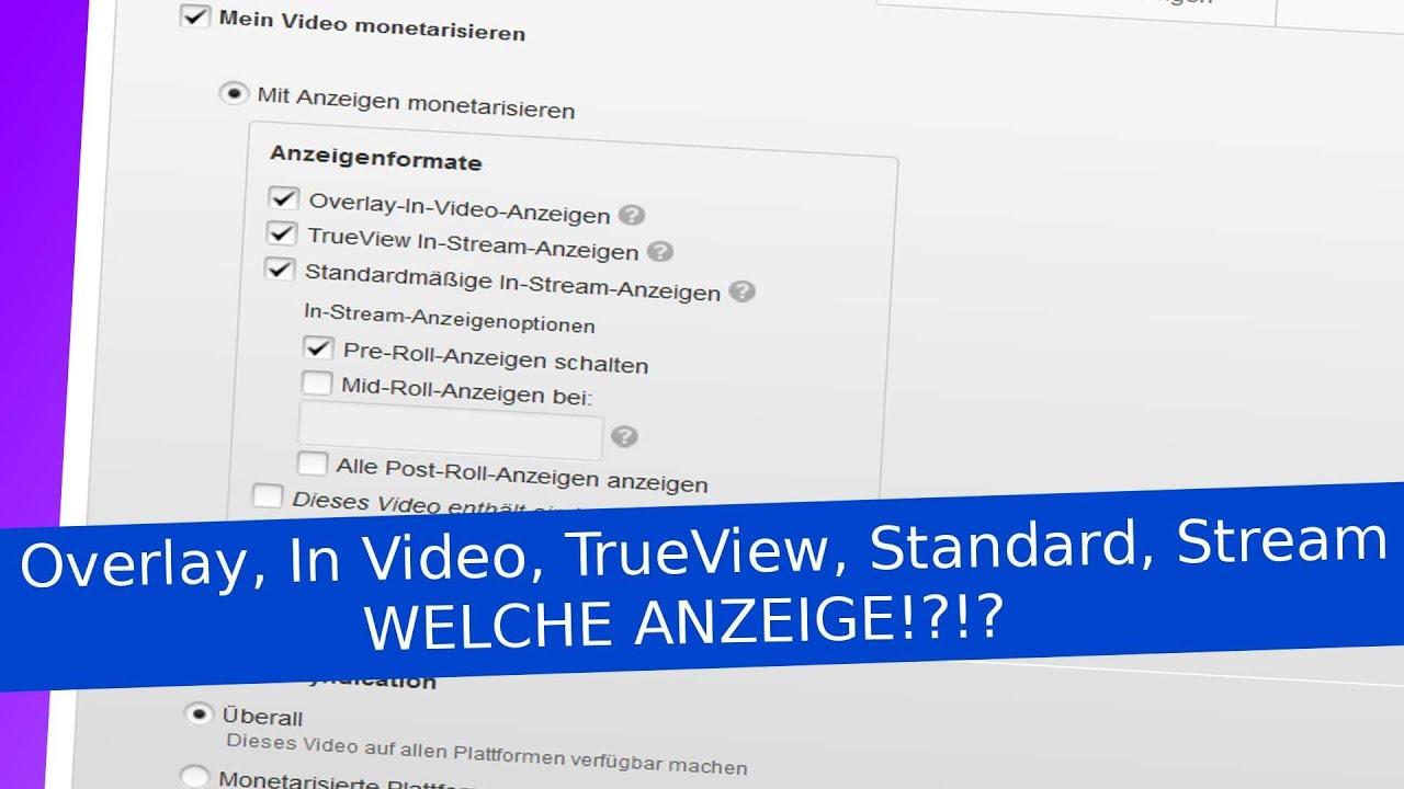 youtube werbung schalten