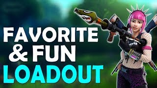 NEW FAVORITE LOADOUT | FUN HIGH KILL GAME | REPLAY OF END - (Fortnite Battle Royale)