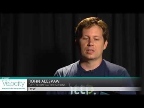 John Allspaw (Etsy) Interview - Velocity Santa Clara 2014