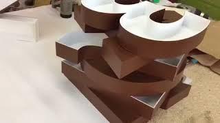 Изготовление букв 3d кинозал