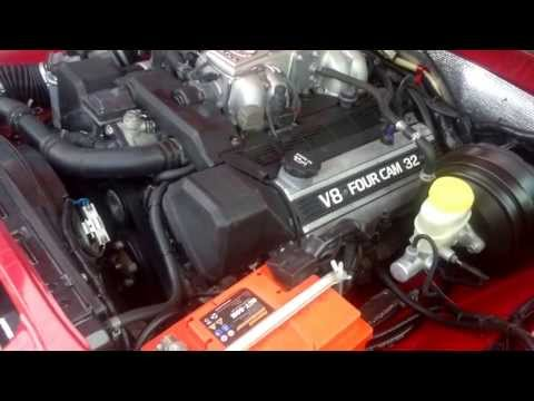 Тест драйв ГАЗ 24 с Тойотой V8 4 литра (Двигатель)