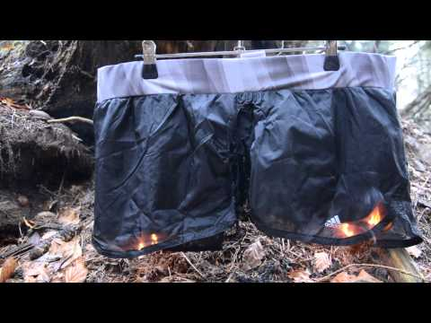 Girls Adidas nylon fitness shorts burning - never worn, collection 2013-part 1 thumbnail