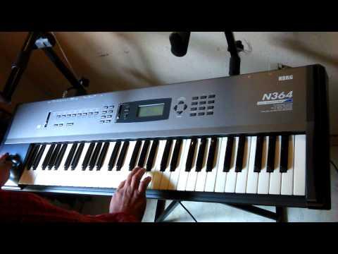 Enveta teclado korg n364 (831)794-4672
