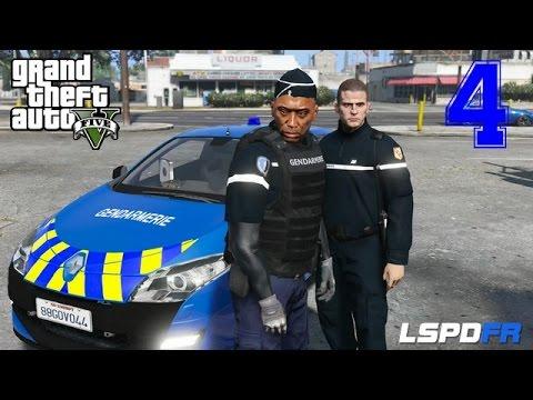 GTA 5 - LSPDFR - GENDARMERIE NATIONALE - VIGILANCE - Intervention Gendarmerie Nationale #4