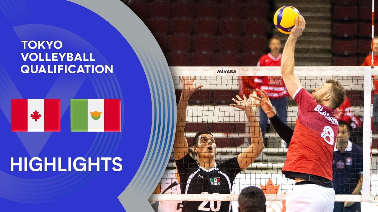 Canada vs. Mexico - Highlights | NORCECA Men's Tokyo Volleyball Qualification 2020
