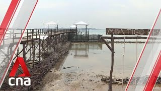 Batam pier collapse: Business as usual at resort