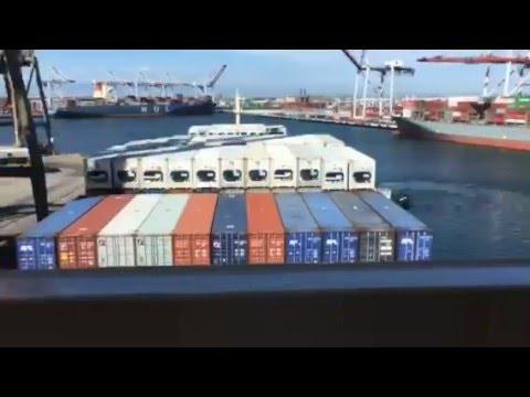 Pasha Hawaii Enterprise vessel - Port of Los Angeles